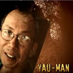 Yau-Man's photo in the opening.
