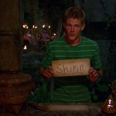 Spencer votes against Shirin.