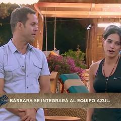 Bárbara joined to the tribe.