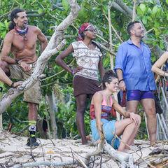Mana at their camp.