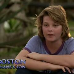 Shane's son, Boston, making a confessional