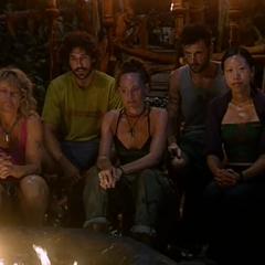 Mogo Mogo's last Tribal Council.