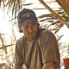Austin at the La Mina camp.