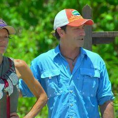 Monica wins her third individual Immunity Challenge.