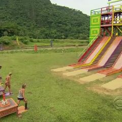 The final 4 at the start of the Final Immunity Challenge.