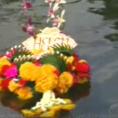 Helen's wreath during the Rites of Passage