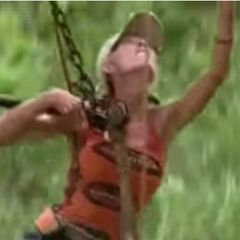 Ruth-Marie in her last challenge.