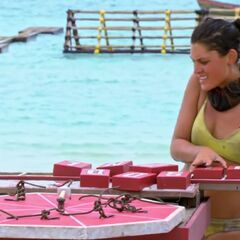 Michele races to finish her puzzle for immunity in <i><a href=