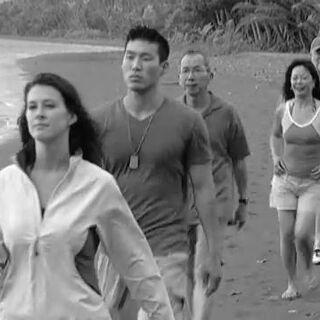 Mellisa along with the other <i>Survivor: Fiji</i> contestants.