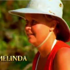 Melinda's motion shot in the second version of the opening.