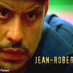 Jean-Robert's second motion shot in the opening credits.