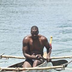 Cliff in the Aparri canoe.