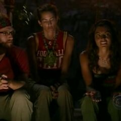 Rafe at the Day 38 Tribal Council.