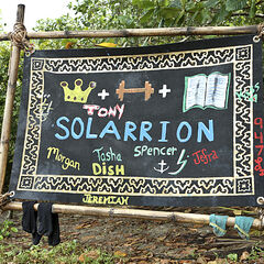 The merged Solarrion tribe flag.