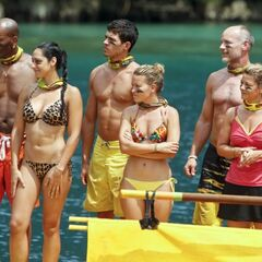 Tandang at the third Immunity Challenge.