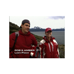 Rob and Amber eliminated from <i>The Amazing Race: All-Stars</i>.