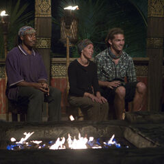 Matsing at Tribal Council.