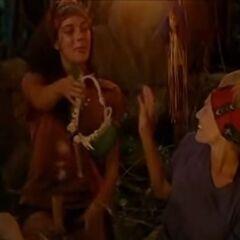 Jenna handing the <a href=