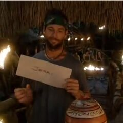 Colby just rolls his eyes after casting his final vote against Jerri.