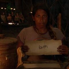 Natalie votes against Keith.