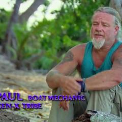 Paul giving a <a href=