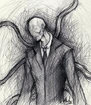 Slender Man by arborrelli