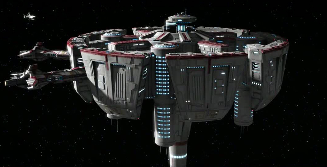 Galunis System Military Space Station | Star Wars Fanon ...