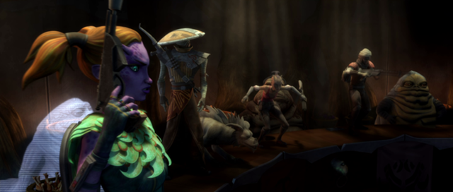 File:Bounty Hunters on the Hutt Grand Council Hall table.png