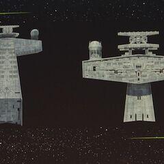 Concept art for a Star Destroyer bridge in <i>Rebels</i>.
