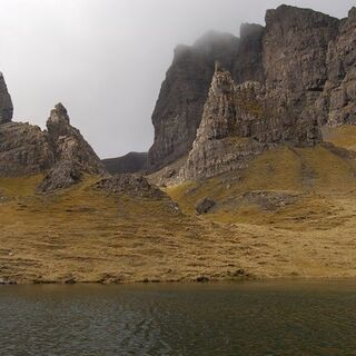 Needle Rock at the Storr.