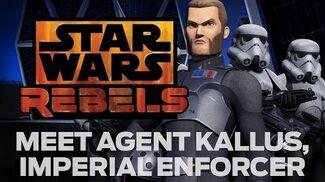 Star Wars Rebels Meet Agent Kallus, Imperial Enforcer