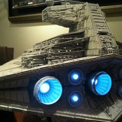 An Imperial Star Destroyer.