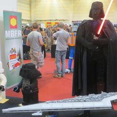 LEGO Darth Vader.