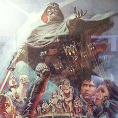 <i>The Empire Strikes Back</i> poster.