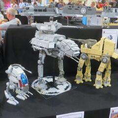 LEGO walkers.