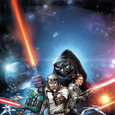 <i>The Star Wars</i> #1, Jan Duursema cover