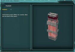 Alum Mine Gel Packet