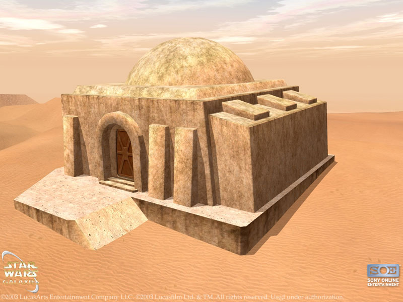 Small Tatooine House Style 2 Swg Wiki Fandom Powered