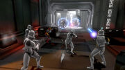 Republic Heroes clone troopers fight droidekas