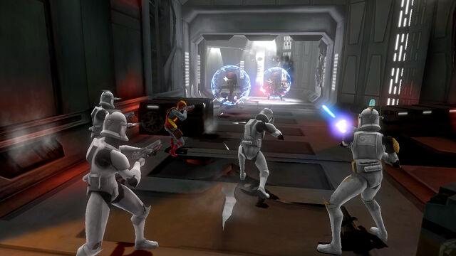 File:Republic Heroes clone troopers fight droidekas.jpg