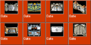 Gate icons