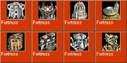 Fortress icons