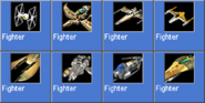 Fighter icons