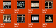 LightWall icons