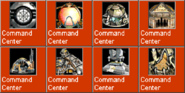 CommandCenter icons