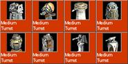 MediumTurret icons