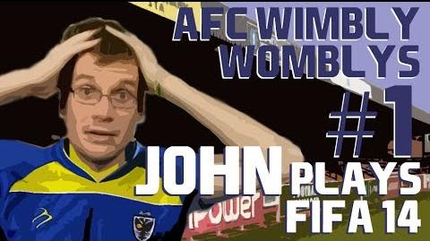 History of AFC Wimbledon AFC Wimbly Womblys 1