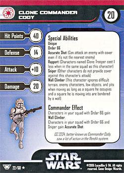 22 CF Card Clone Commander Cody