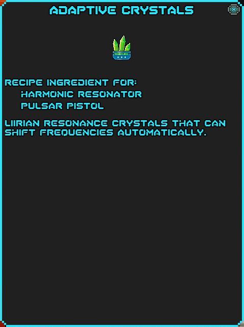 IGI Adaptive Crystals
