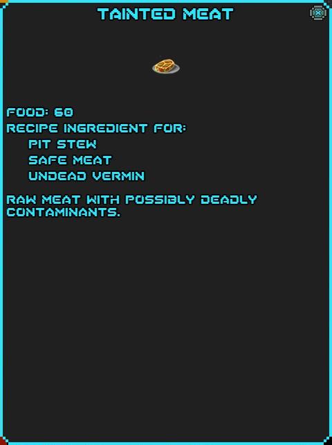 IGI Tainted Meat